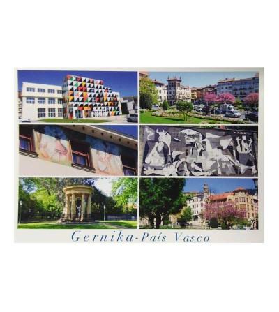 Postal Gernika - País Vasco ( 6 imágenes típicas)