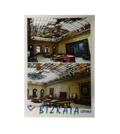 Sala de vidrieras de la Casa de Juntas de Gernika