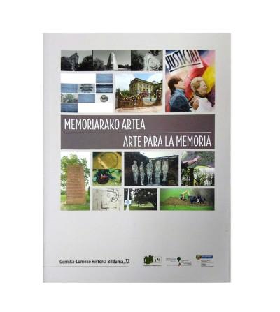 Arte para la memoria (portada) / Memoriarako artea