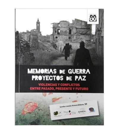 Memorias de guerra proyectos de Paz - portada
