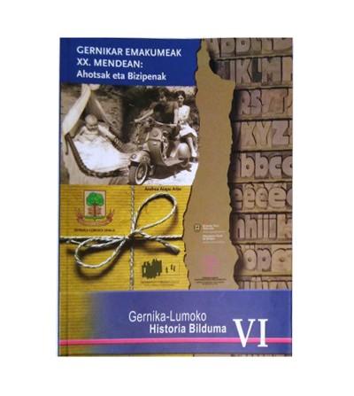 Gernikar Emakumeak XX. mendean : Ahotsak eta Bizipenak (portada)
